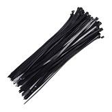 Abraçadeira em nylon preta 2,5 x 150 mm - Cod 01609