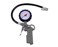 Calibrador manual com relógio para pneus de veículos com e sem rodoar 3724 (0 a 170 lbs) - cod 01555