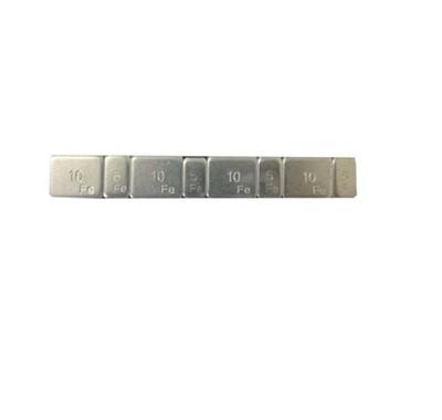 Contrapeso Pastilhado de Aço 60 Gramas 5/10 com 50 peças - STAMPJET - cod 55007