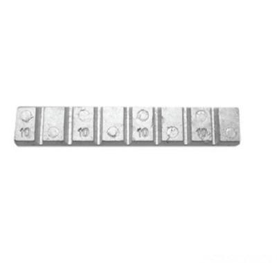 Contrapeso Pastilhado Chumbo Alto 60 Gramas 10/10 com 50 peças - Stampjet - cod 55001