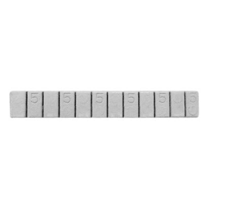Contrapeso Pastilhado Chumbo Extra-Baixo 50 Gramas 5/5 com 50 peças - STAMPJET - cod 55003