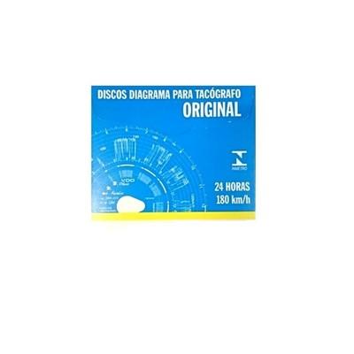 Disco Tacógrafo Diário 180km - cod 03135