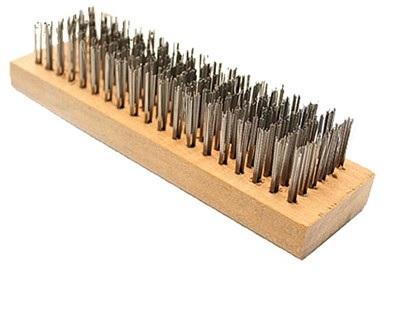 Escova de Aço sem Cabo - cod 00197