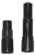 Extensão rígida plástica para válvula de autos 688 comp util 31,8 mm e total 39,7 mm - cod 02375