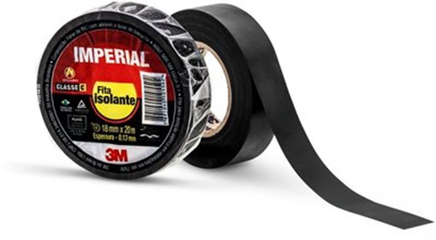 Fita Isolante 3M Imperial 20 mt - cod 00093