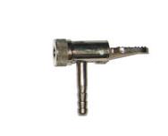 Inflador auto-travante sem retenção com presilha MS 11 trava metálica espigão 1/4' - cod 01532