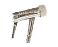 Inflador tipo cachimbo com trava 9034 para mangueira de 1/4 - Cod 02556