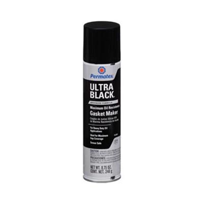 Permatex Silicone (Cola) Ultra Black 370g - PERMATEX - cod 00747