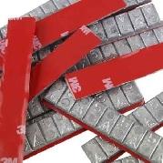 Peso adesivo aço 5/5 60grs c/50 - Assis - cod 95007