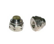 Porca para carlota do rodoar aluminio - cod 03036