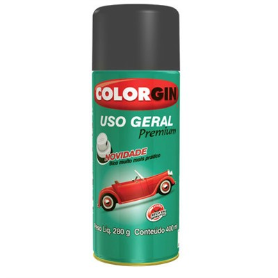 Tinta Spray Cinza Escuro - cod 02223