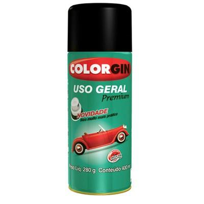 Tinta Spray Preta Brilhante - cod 01388